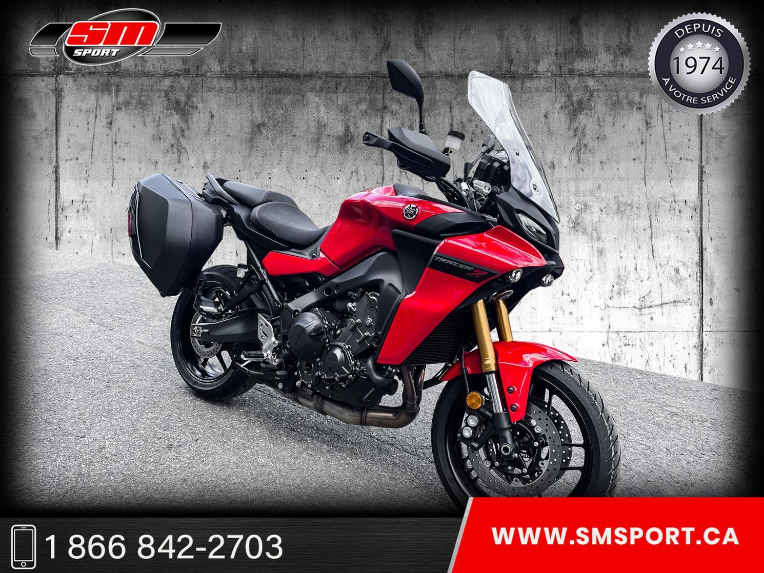 2021 Yamaha TRACER 900 GT - NOUVEAU MODELE 2021 - DEMO