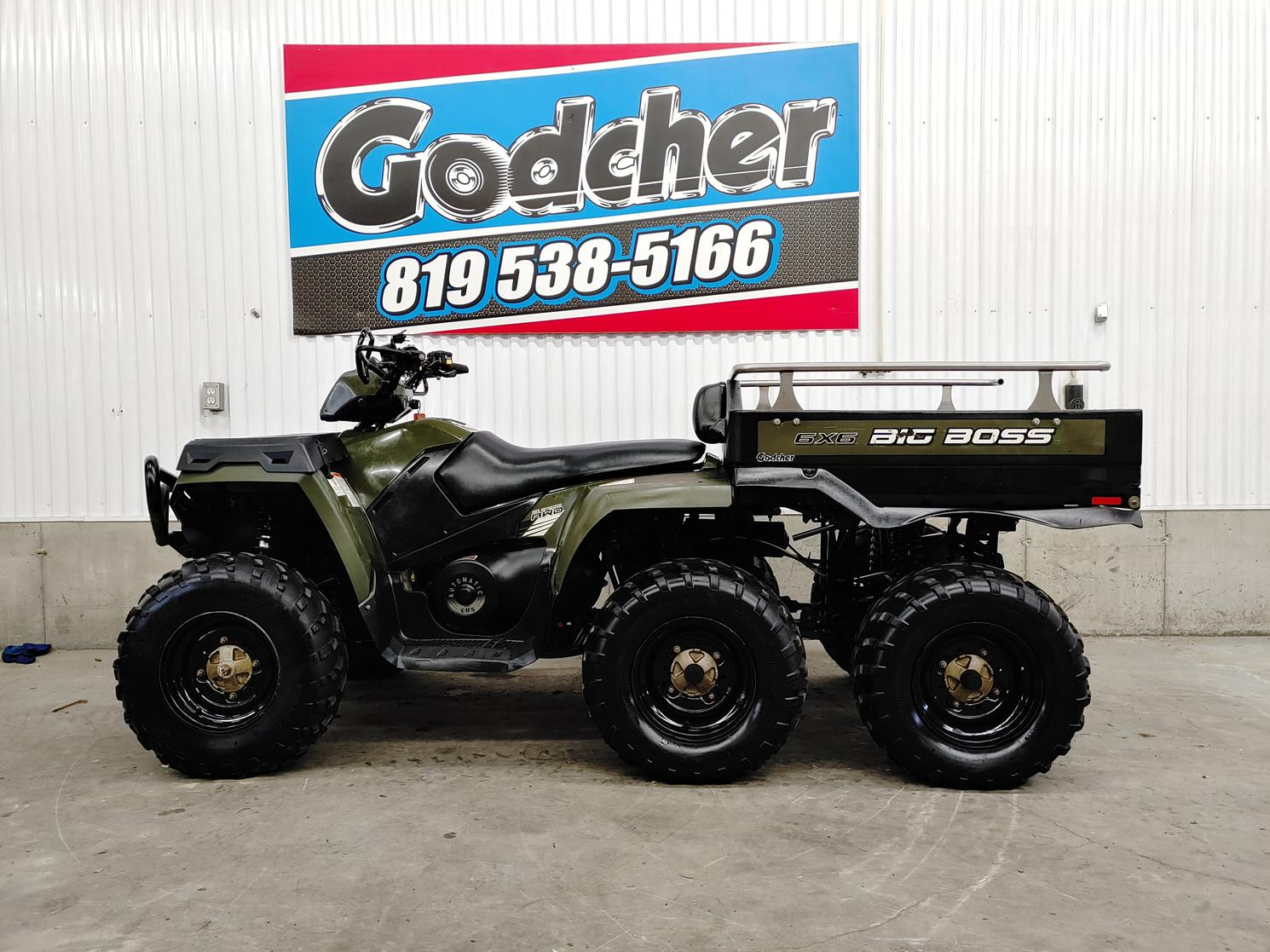 2014 Polaris Sportsman 800 Big boss 6×6