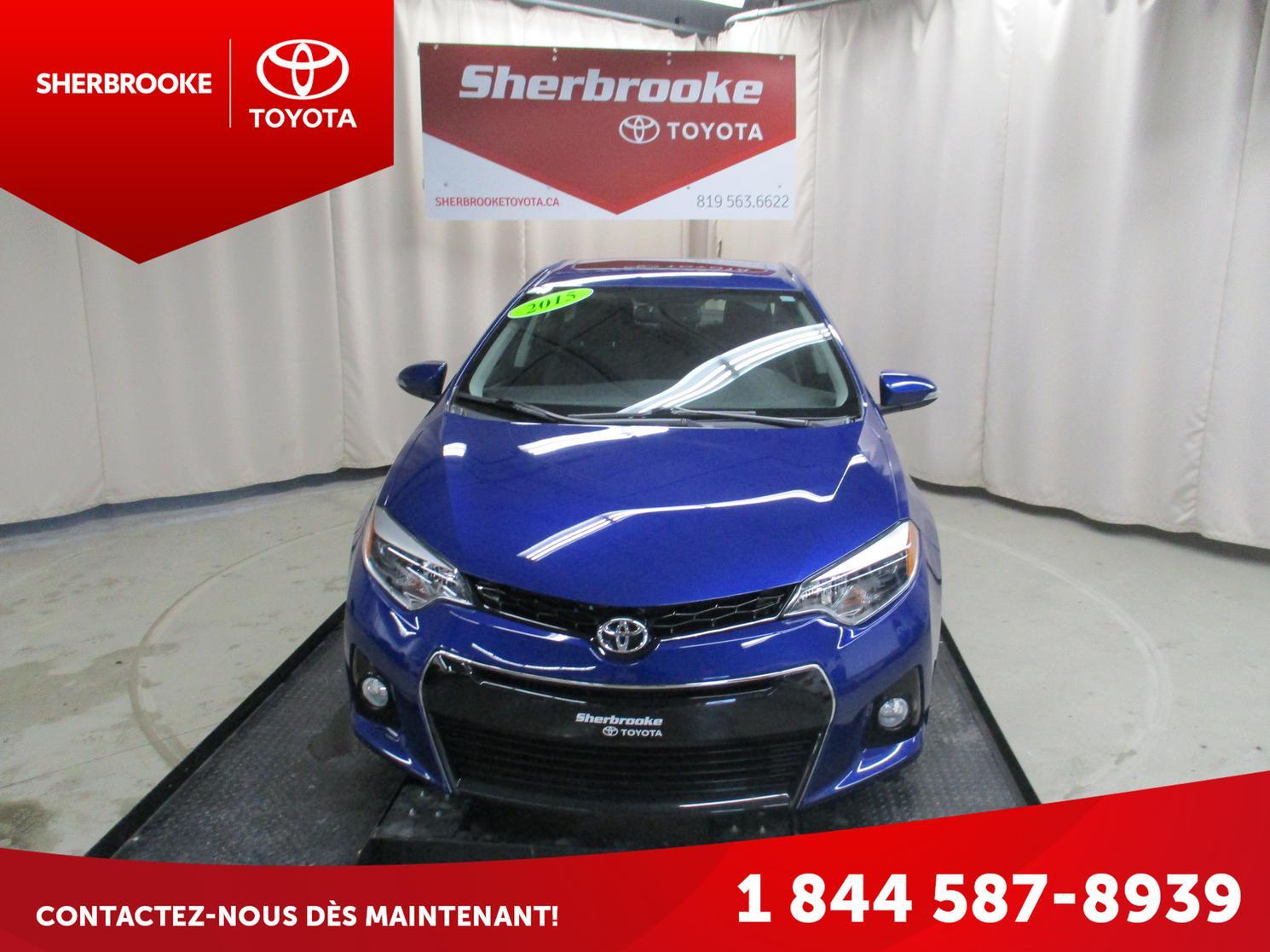 2015 Toyota Corolla S Groupe Amélioré