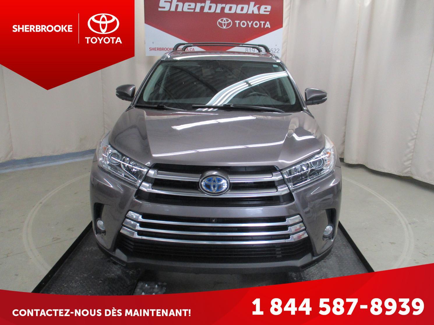 2017 Toyota Highlander Hybride Limited