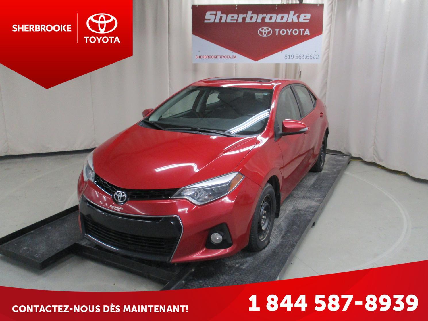 2014 Toyota Corolla S Groupe Amélioré