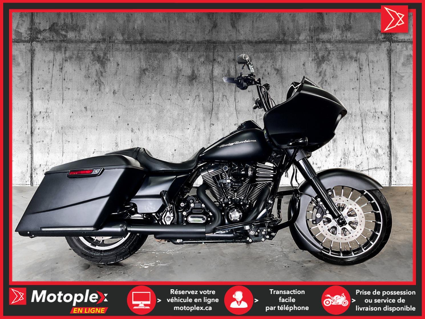 2016 Harley-Davidson FLTRX ROADGLIDE BAGGER 74$/semaine