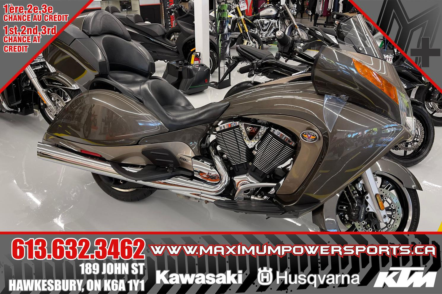 2012 Victory Motorcycles VISION TOUR ABS VISION TOUR ABS 106CC
