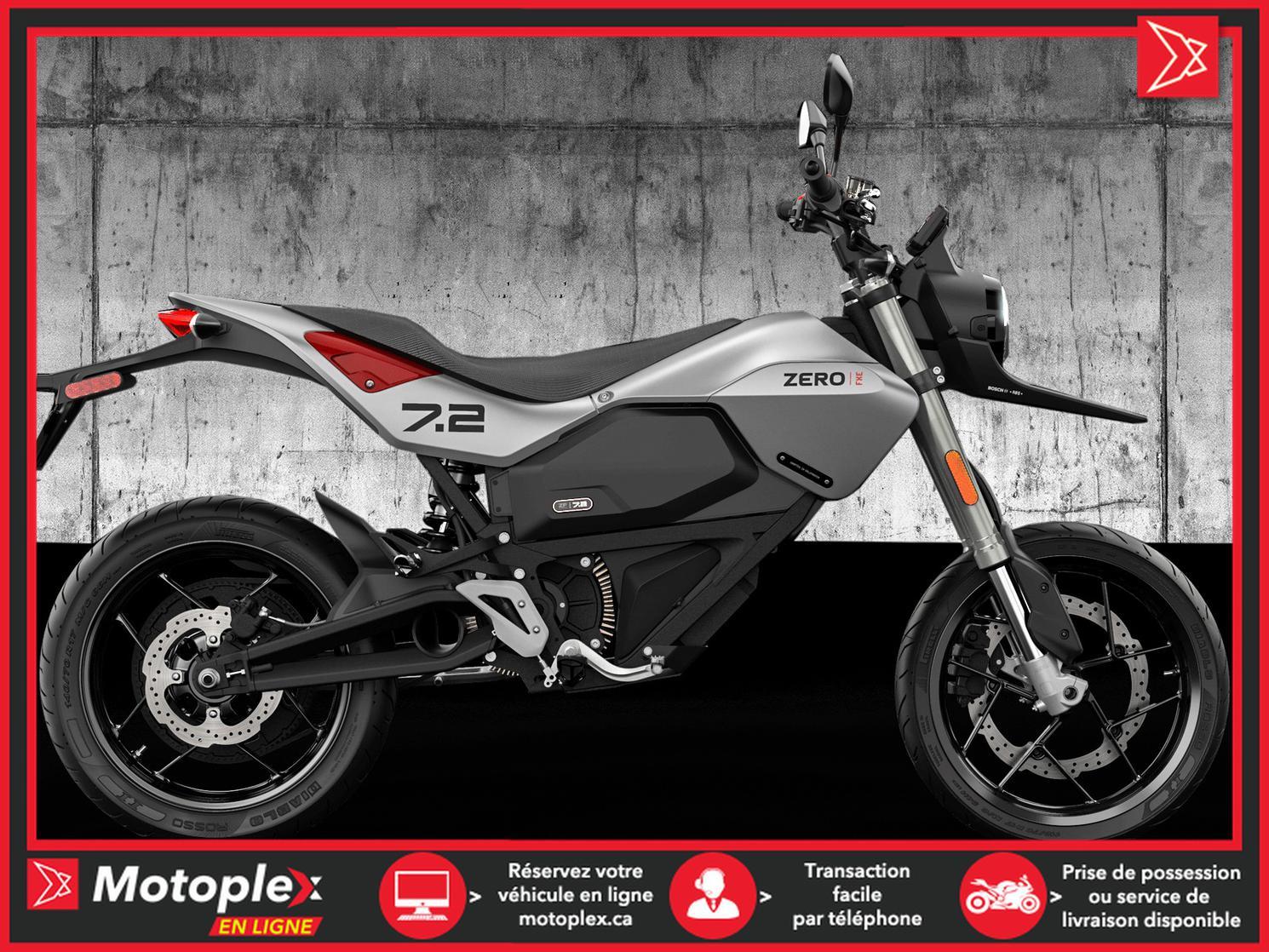 Zero Motorcycles FXE ZF7.2 2022