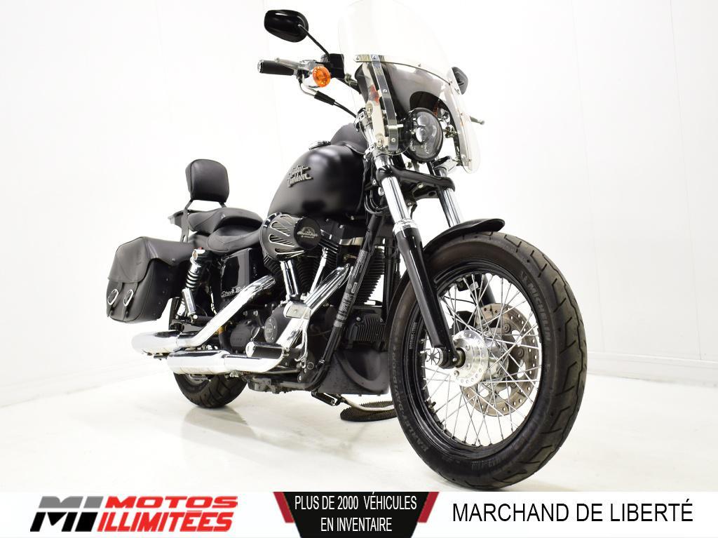 2014 Harley-Davidson FXDB Dyna Street Bob Tout équipé. Frais inclus+Taxes