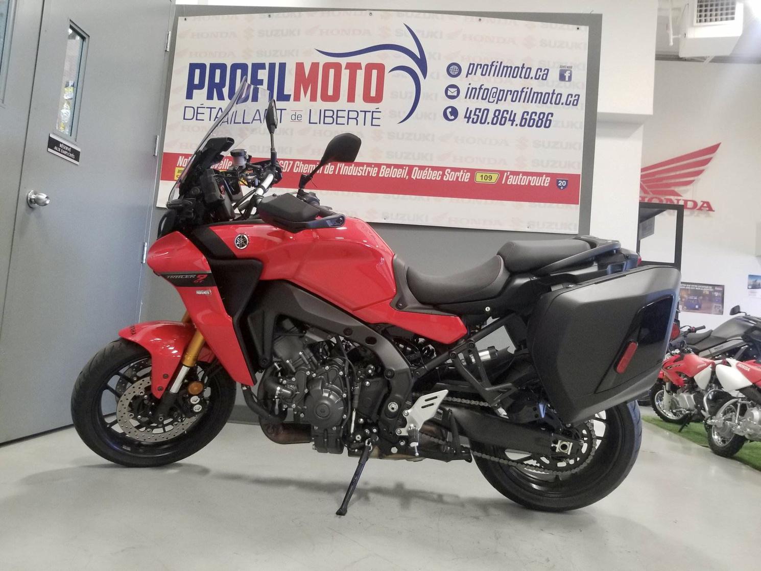 Yamaha MTT-09 TRACER 9 GT Frais inclus + taxes 2021