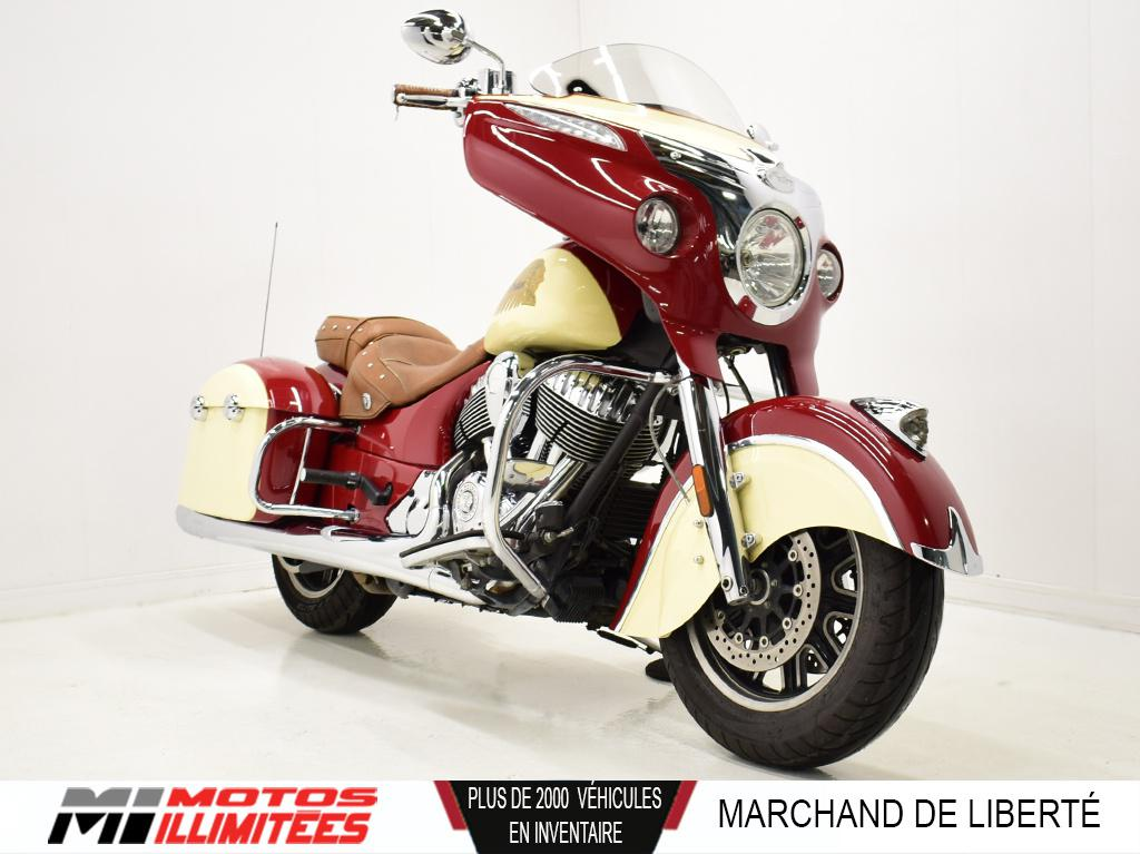 2015 Indian Motorcycles Chieftain Frais inclus+Taxes