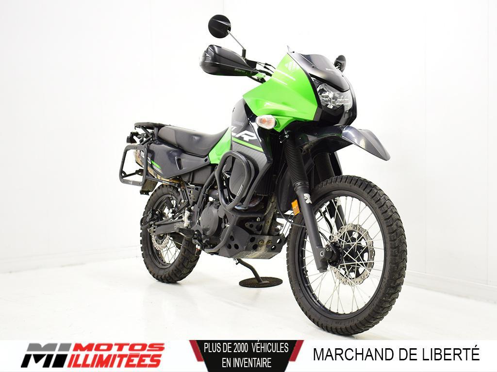2014 Kawasaki KLR650 Frais inclus+Taxes