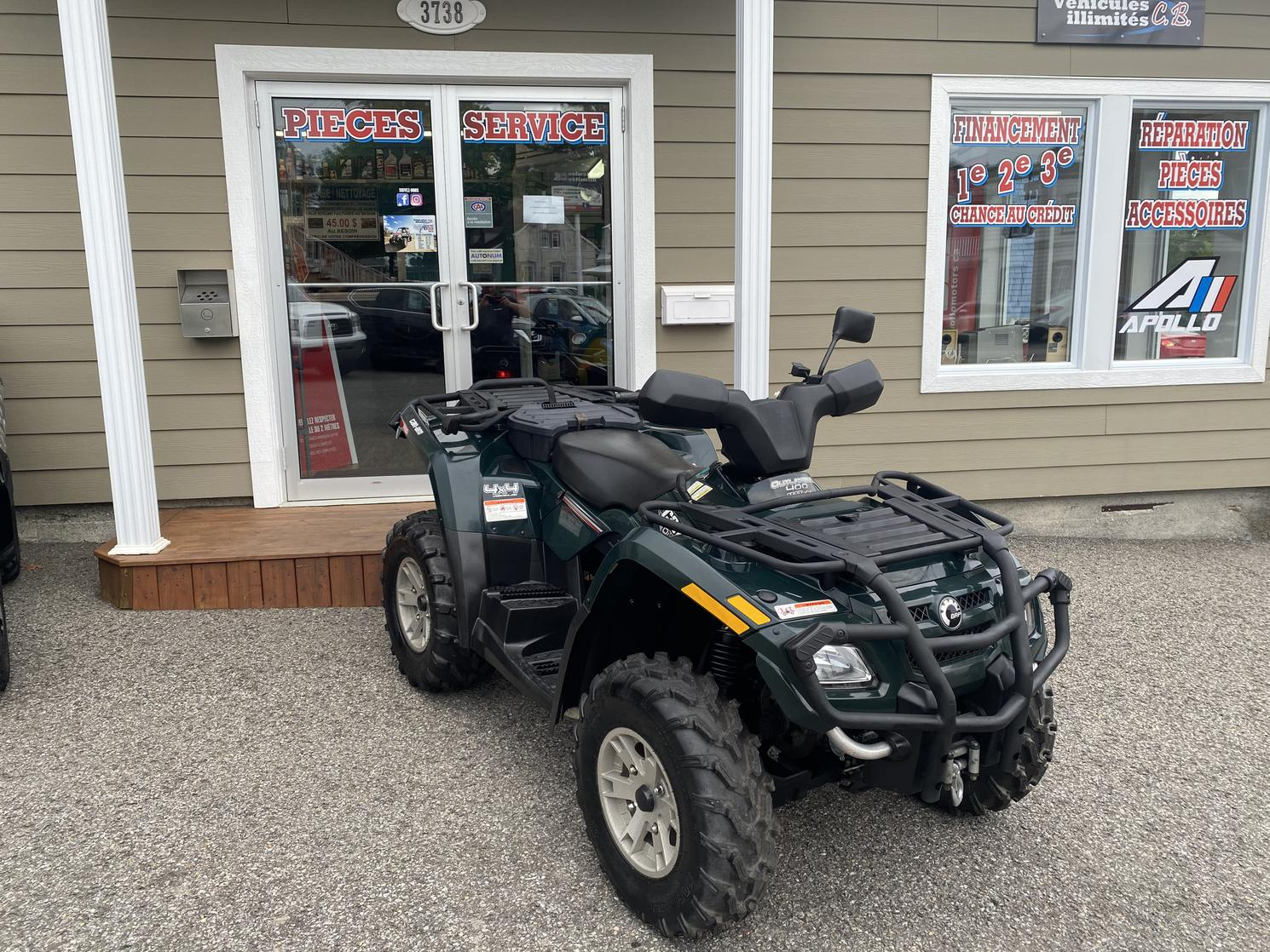 2007 can-am 2 places 400 max xt