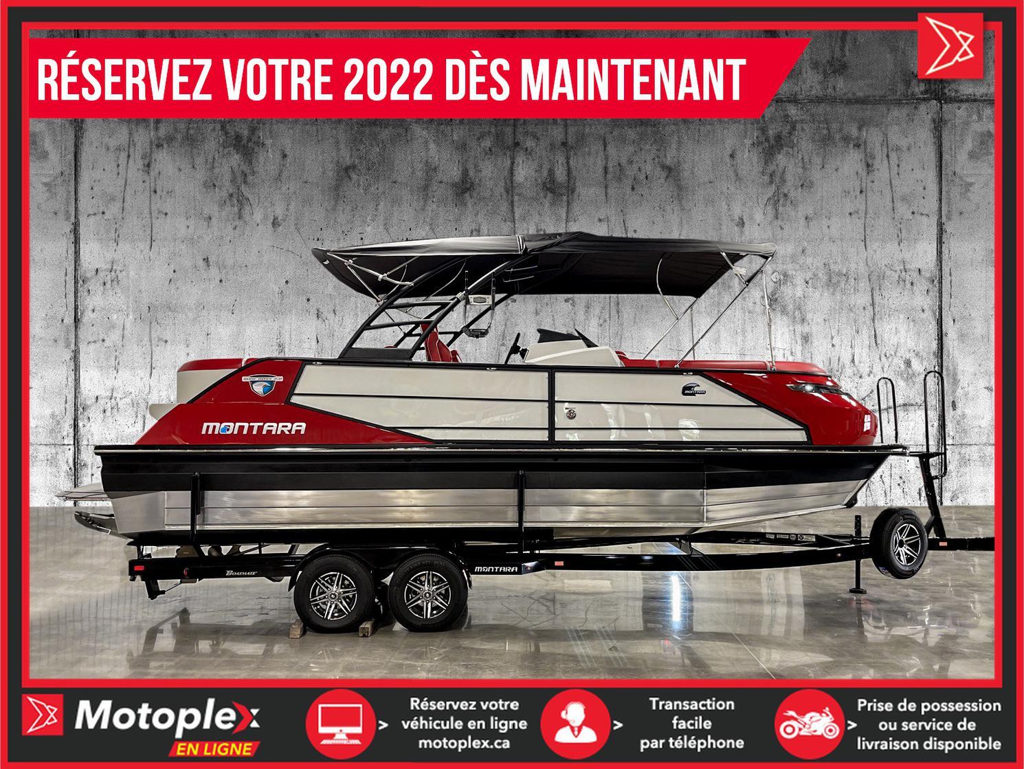Montara Ponton 25 Surf Boss PCM 450 HP 2021 2022