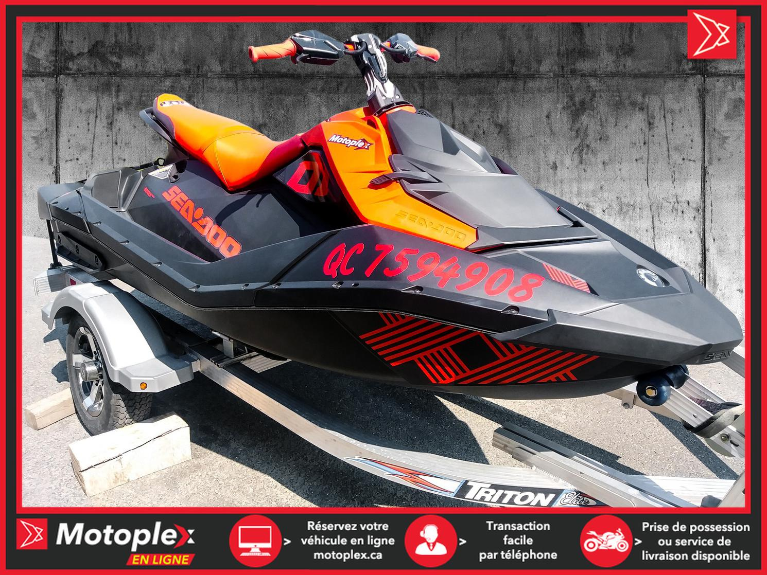 2021 Sea-Doo Spark Trixx 900 - 54$/semaine