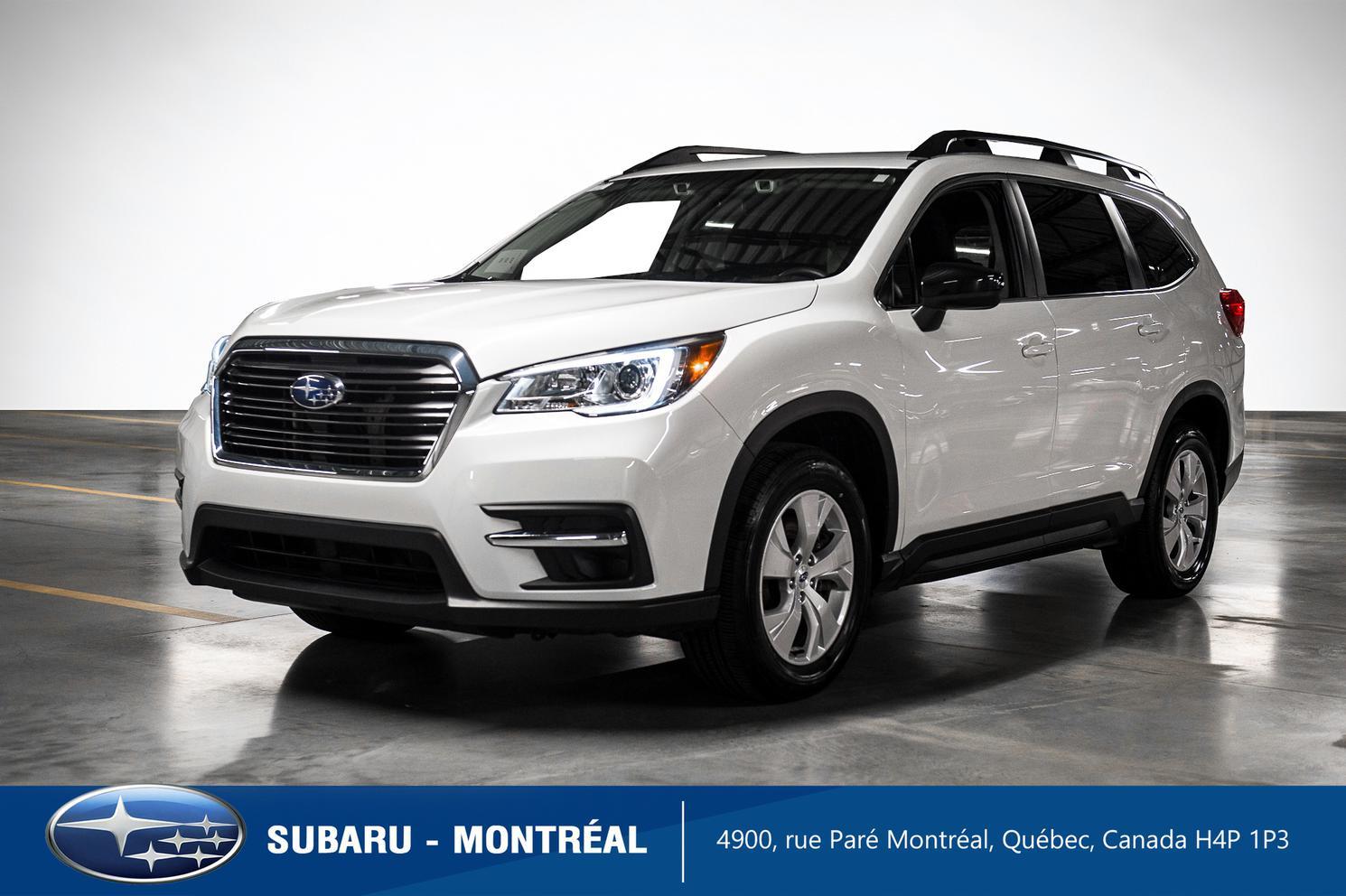 2020 Subaru Ascent Convenience Eyesight – 8 passagers