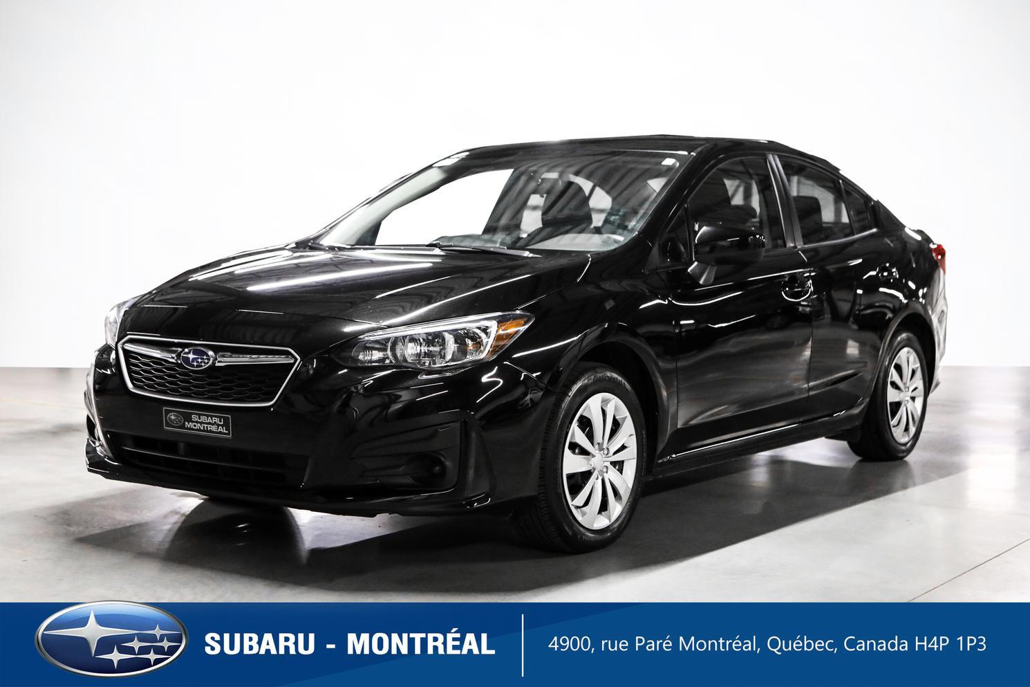 2019 Subaru Impreza Convenience