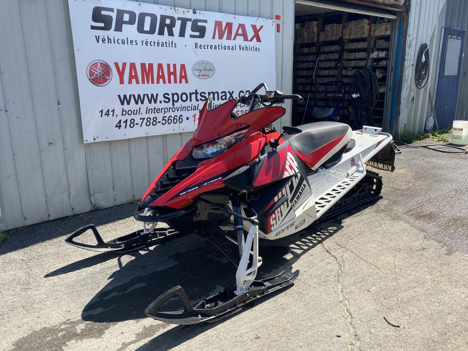 2015 Yamaha SRVIPER XTX