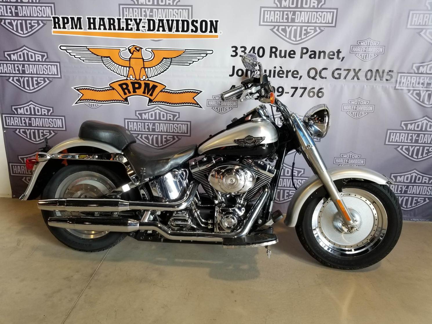 Y020665 Harley-Davidson Softail Fat Boy 100e anniversaire 2003