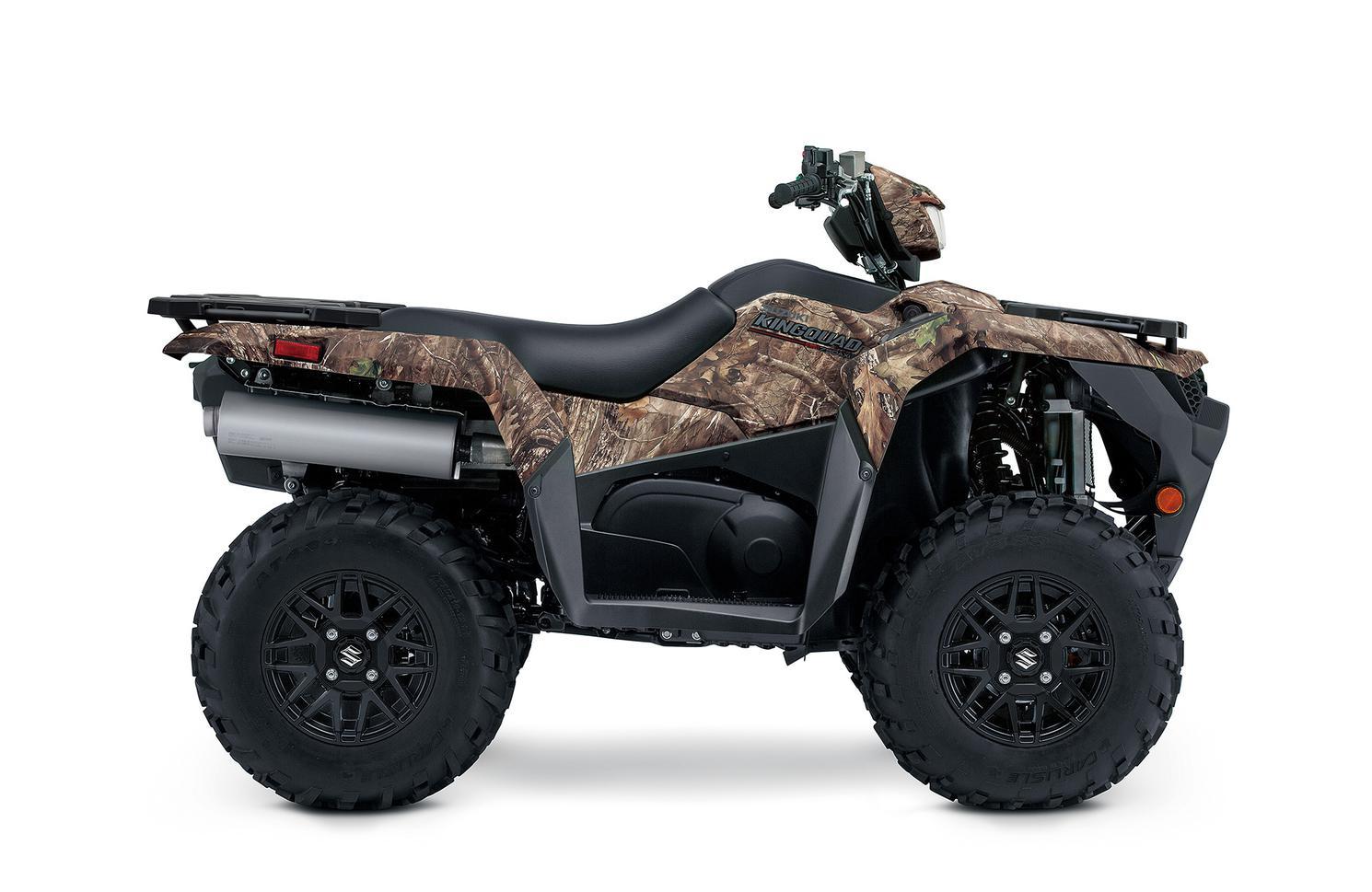 Suzuki King Quad 750 avec direction assistée 2022 - Camouflage