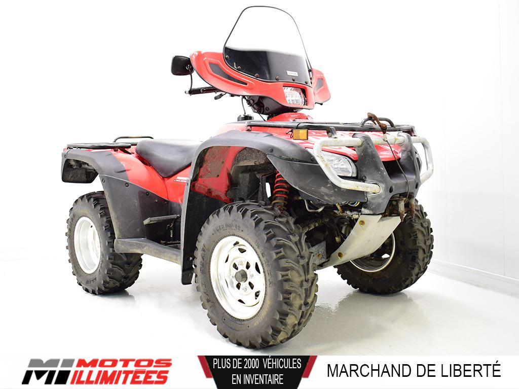 2006 Honda TRX500 Rubicon Frais inclus+Taxes