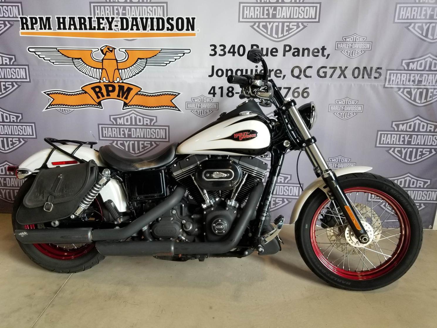 EC323063 Harley-Davidson Dyna Street Bob 2014