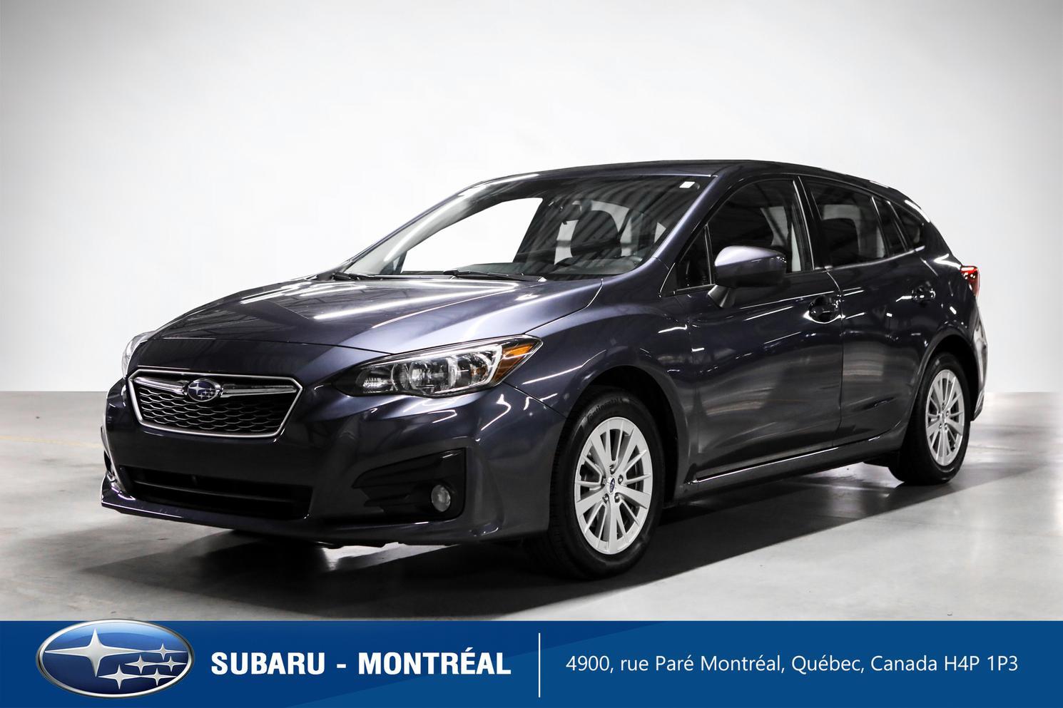 2017 Subaru Impreza Touring Hatchback
