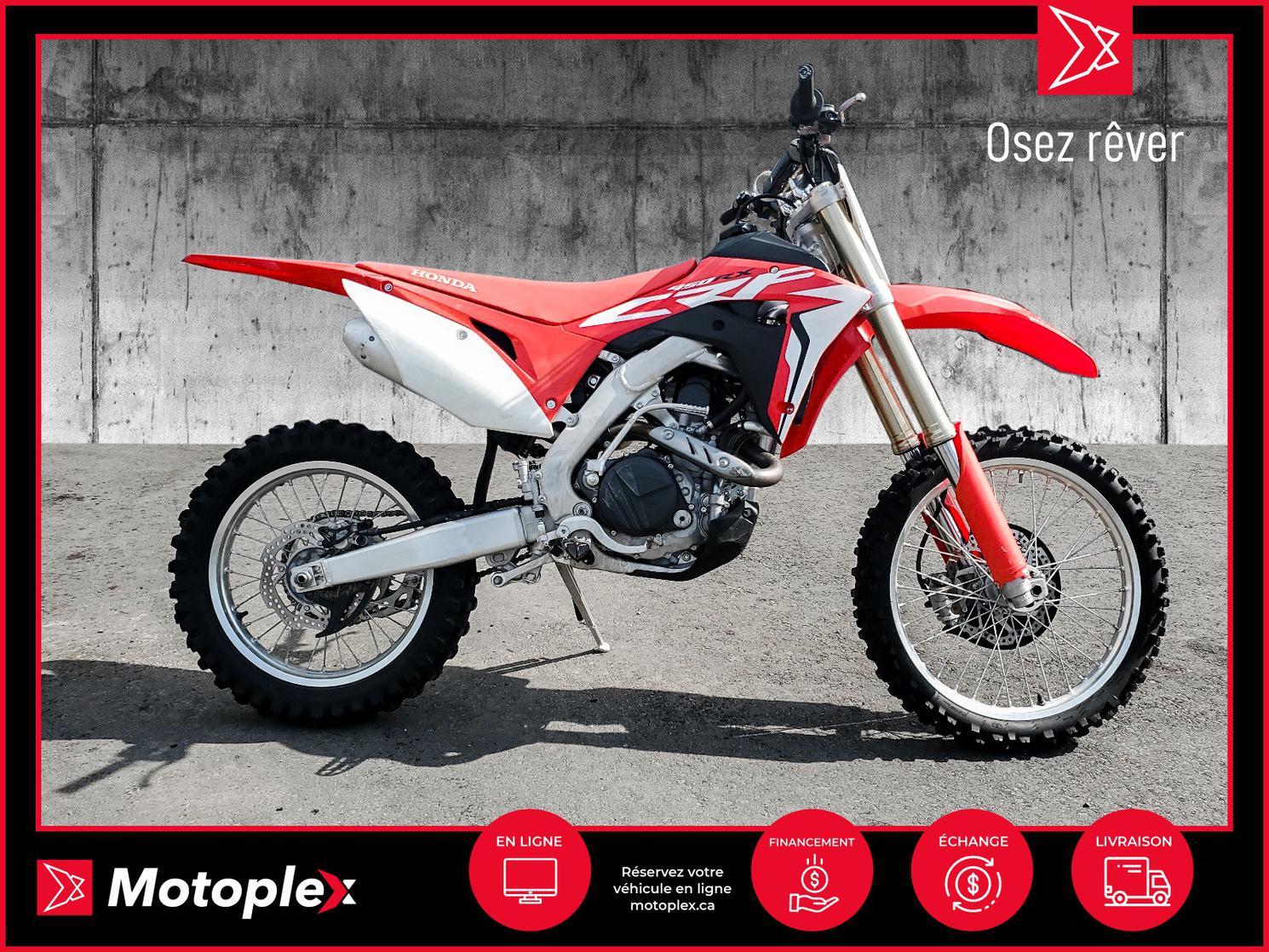 2017 Honda CRF 450 RX 37$/semaine