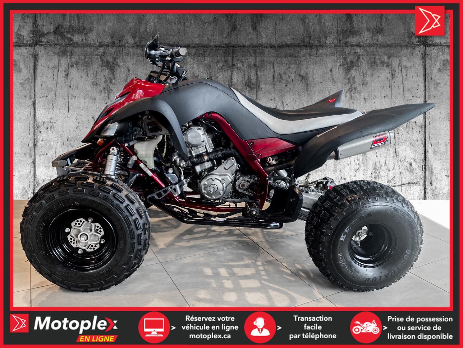 2008 Yamaha RAPTOR 700R 44$/semaine