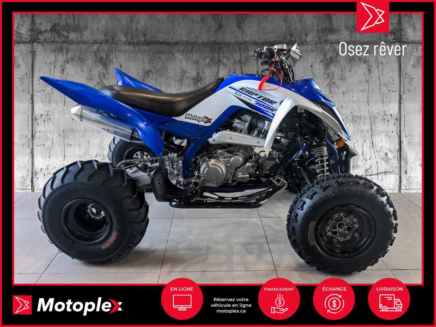 2016 Yamaha RAPTOR 700R 55$/semaine