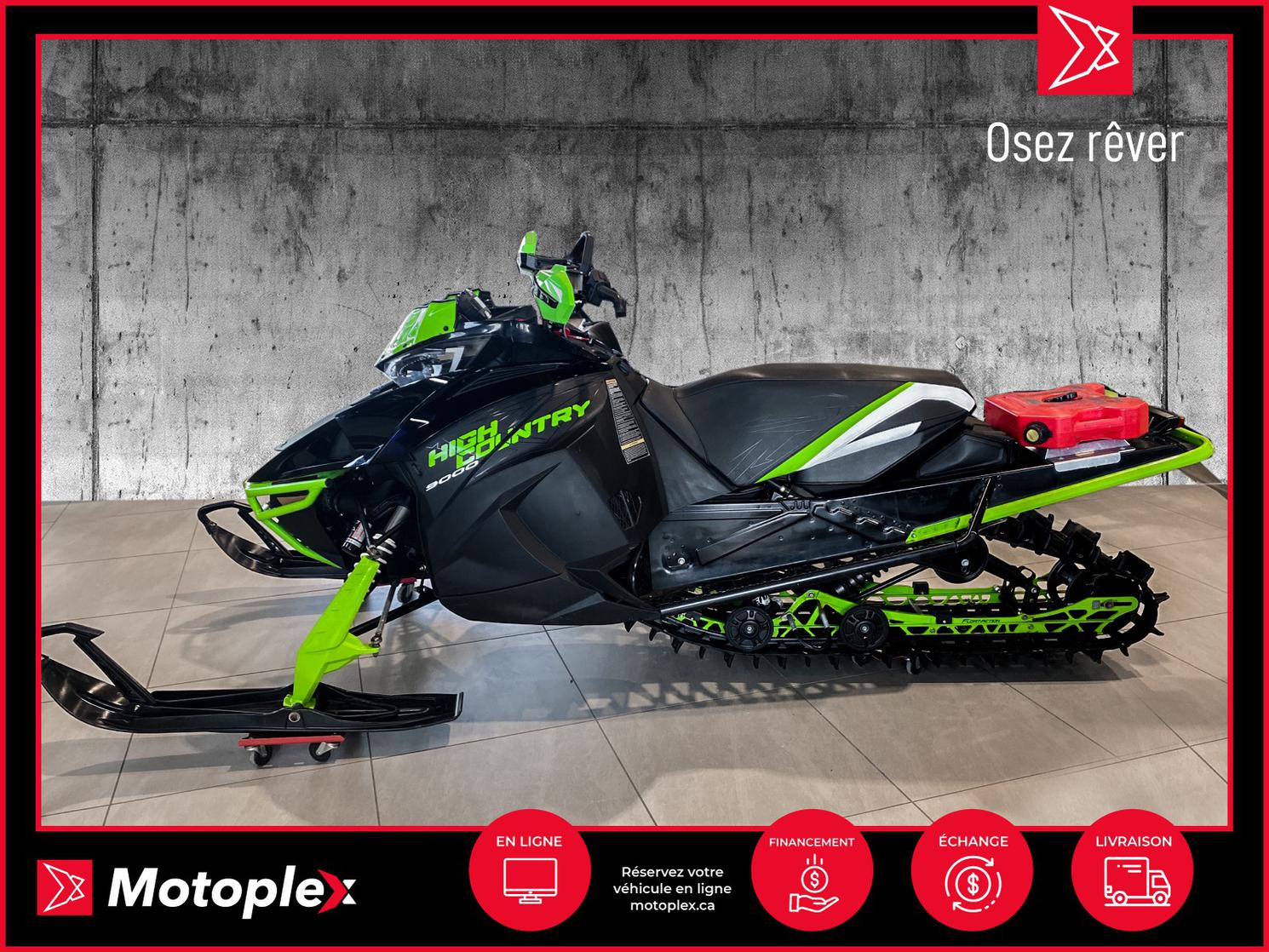 2018 Arctic Cat XF 9000 High-country 68$/semaine
