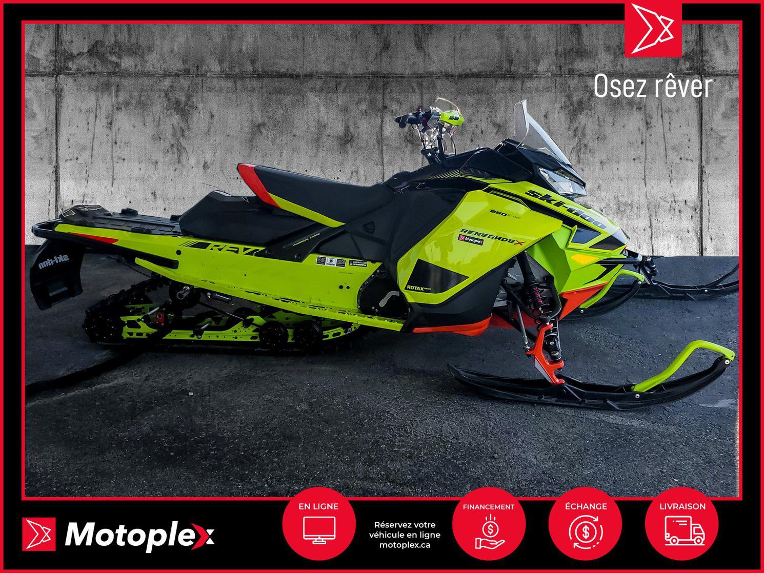 2020 Ski-Doo RENEGADE 850 X 46$/semaine
