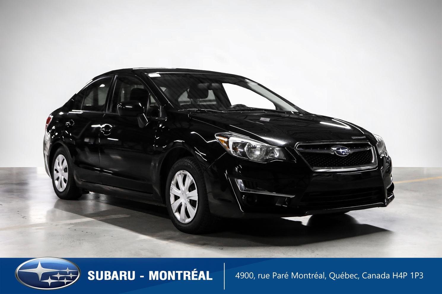 2015 Subaru Impreza Convenience