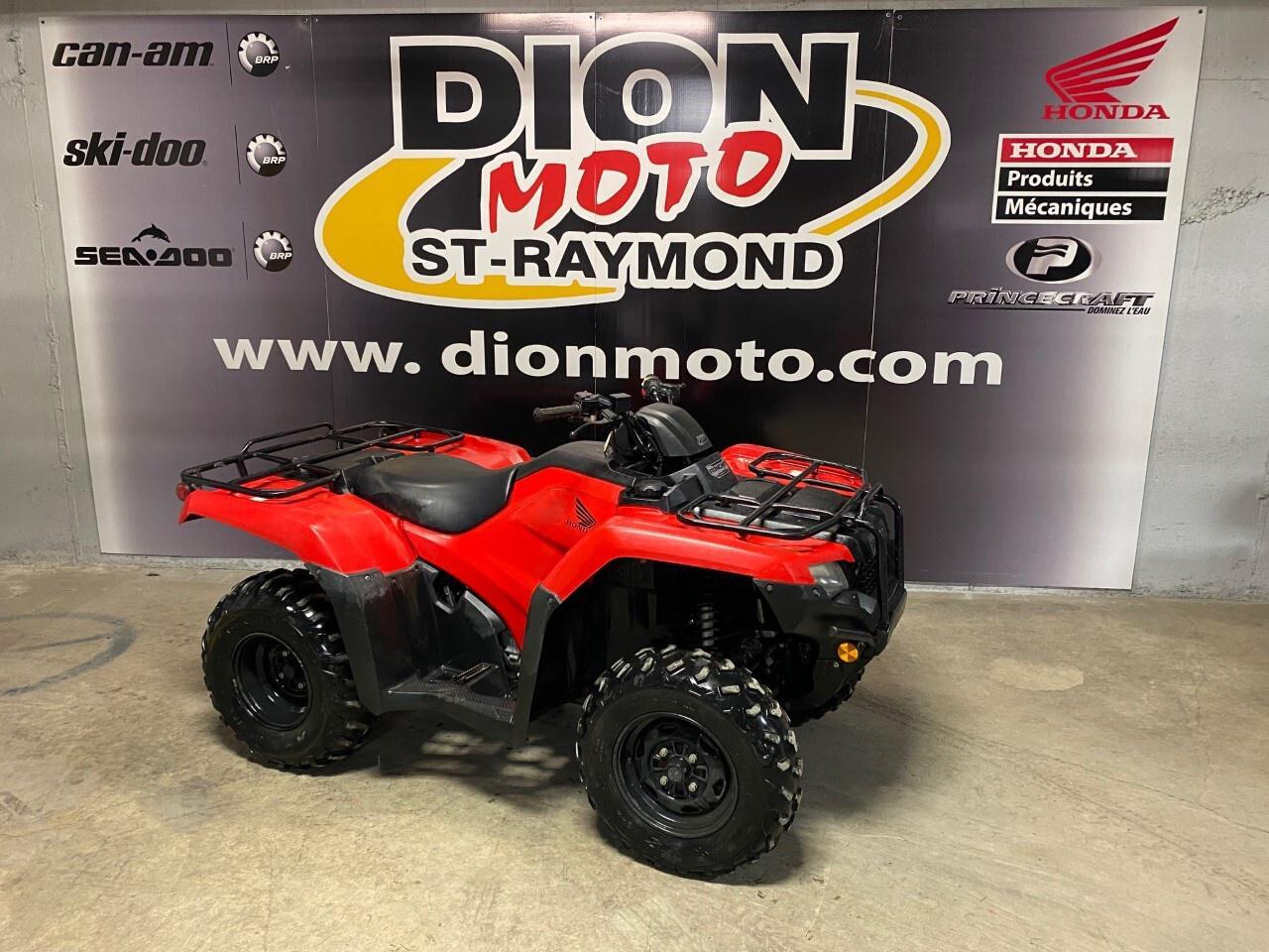 2018 Honda FourTrax Rancher 420