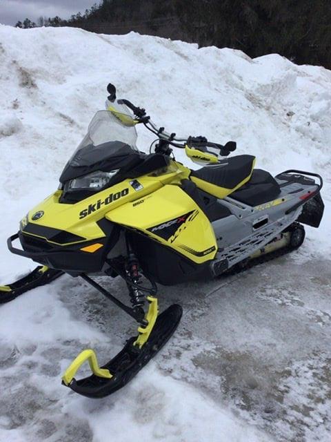 Ski-Doo MXZ 850 X 2019