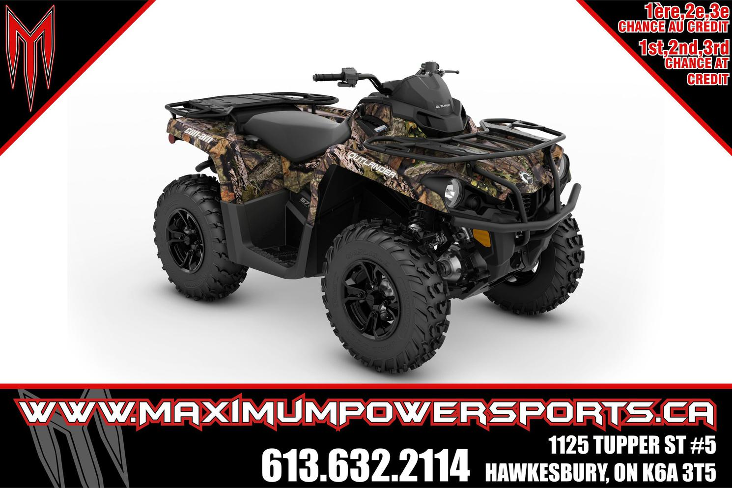 2022 Can-Am OUTLANDER DPS 570