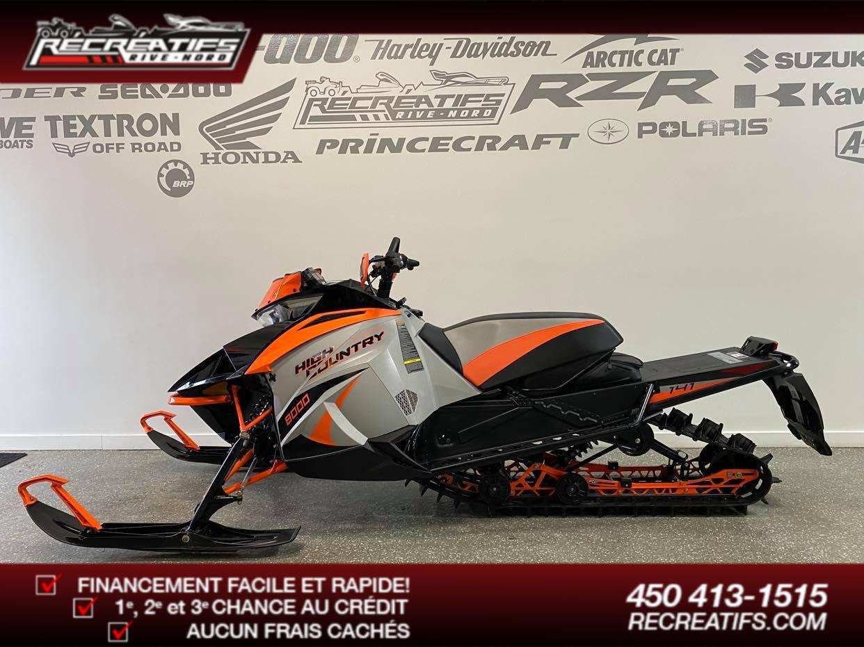2018 Arctic Cat XF 8000 HIGH COUNTRY