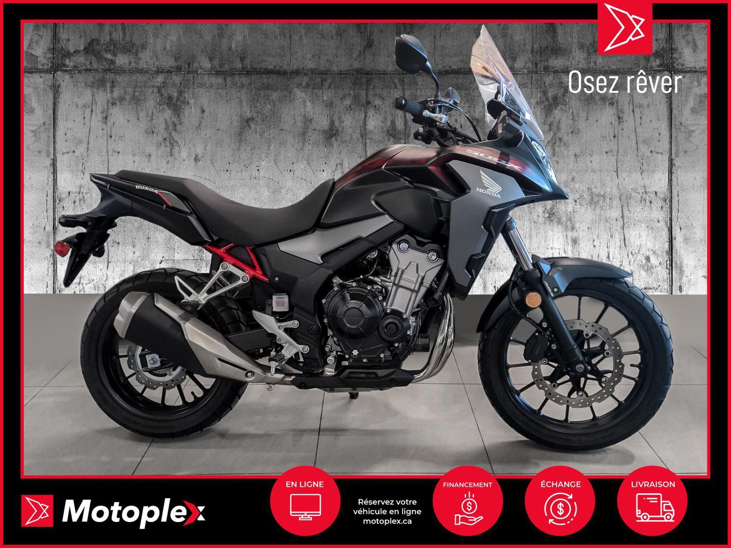 2021 Honda CBX 500 - 38$/semaine