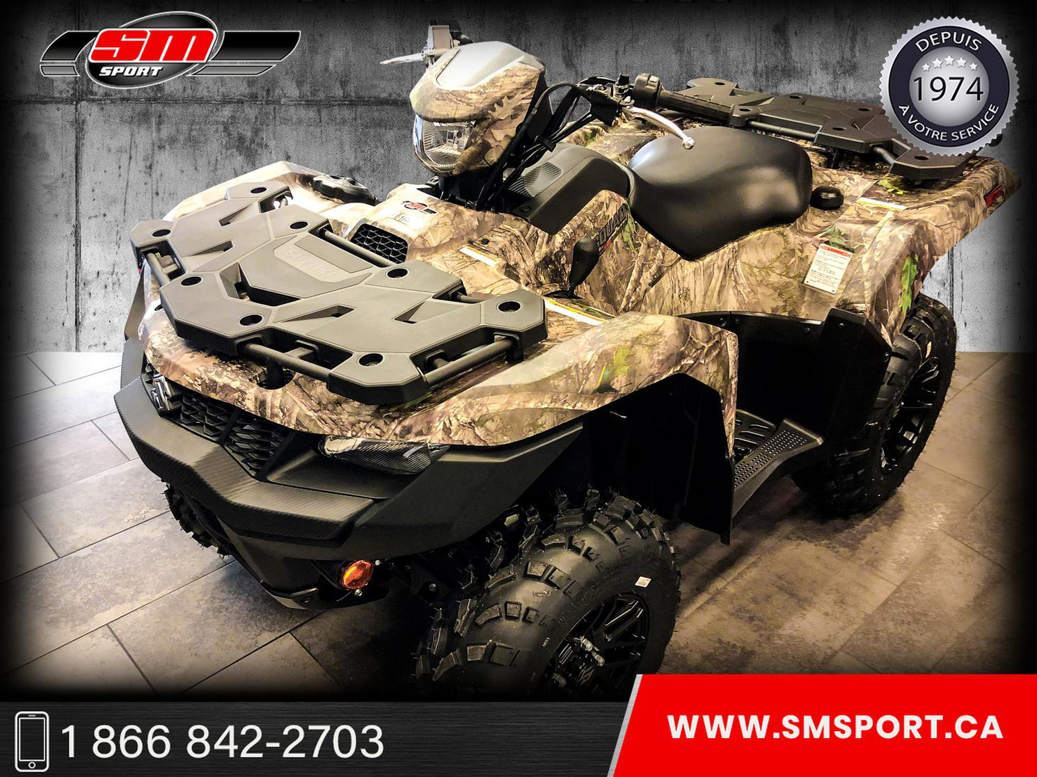 2021 Suzuki LTA 500 KINGQUAD XPZ - NEUF DISPONIBLE EN STOCK