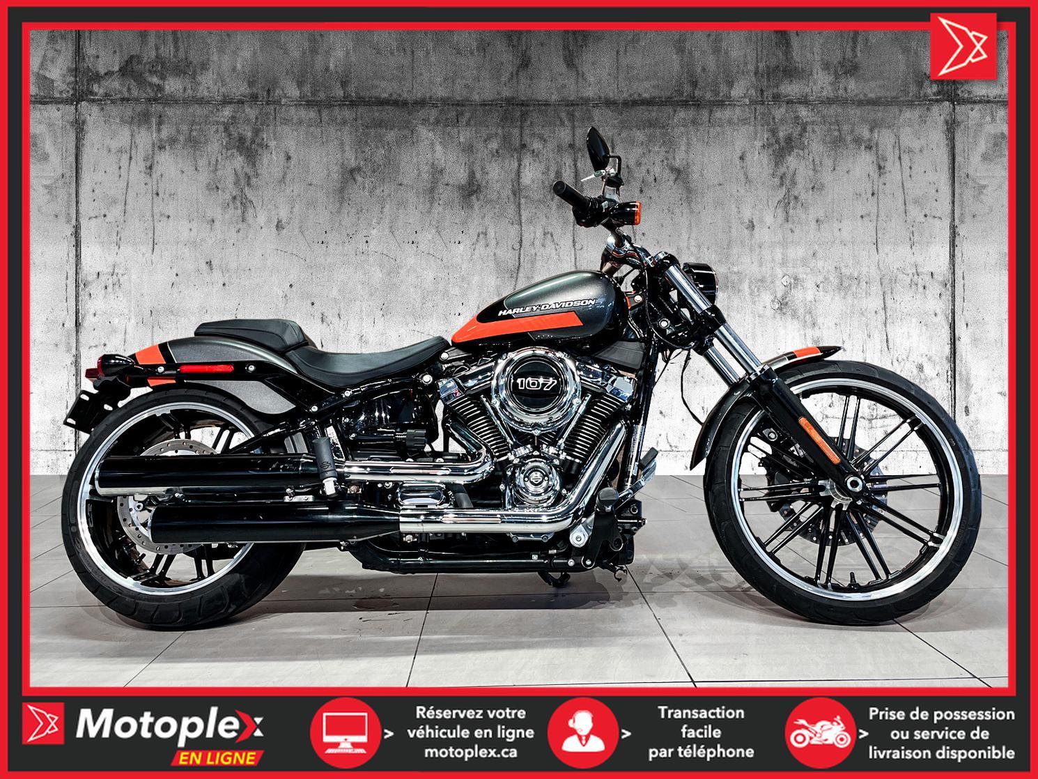 U4912 Harley-Davidson BREAKOUT-107-FXBR-LIMITED PAINT 2019