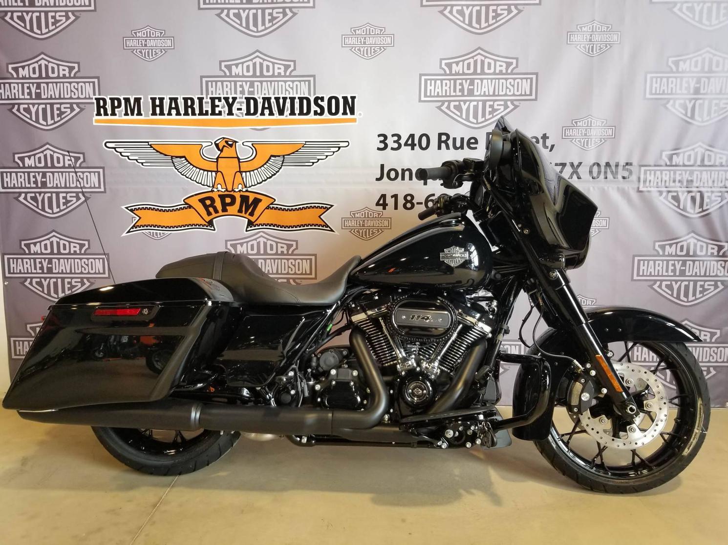 FLHXS21BLK Harley-Davidson Street Glide Special 2021