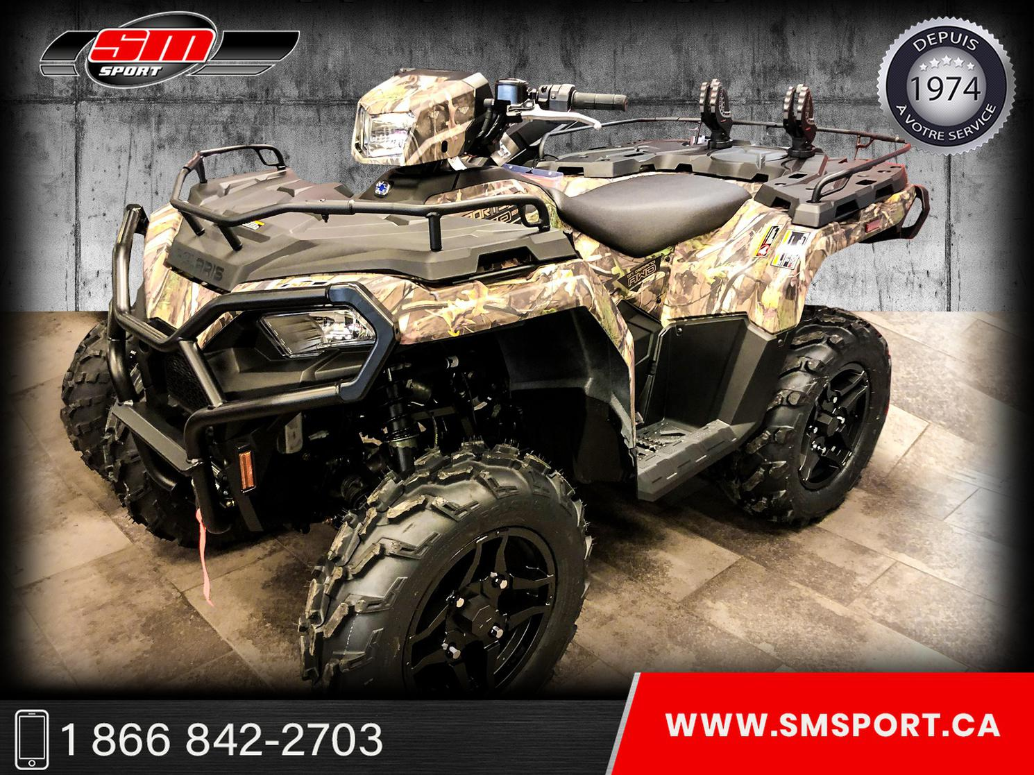 2021 Polaris SPORTSMAN 570 EPS HUNT EDITION - DISPONIBLE EN STOCK