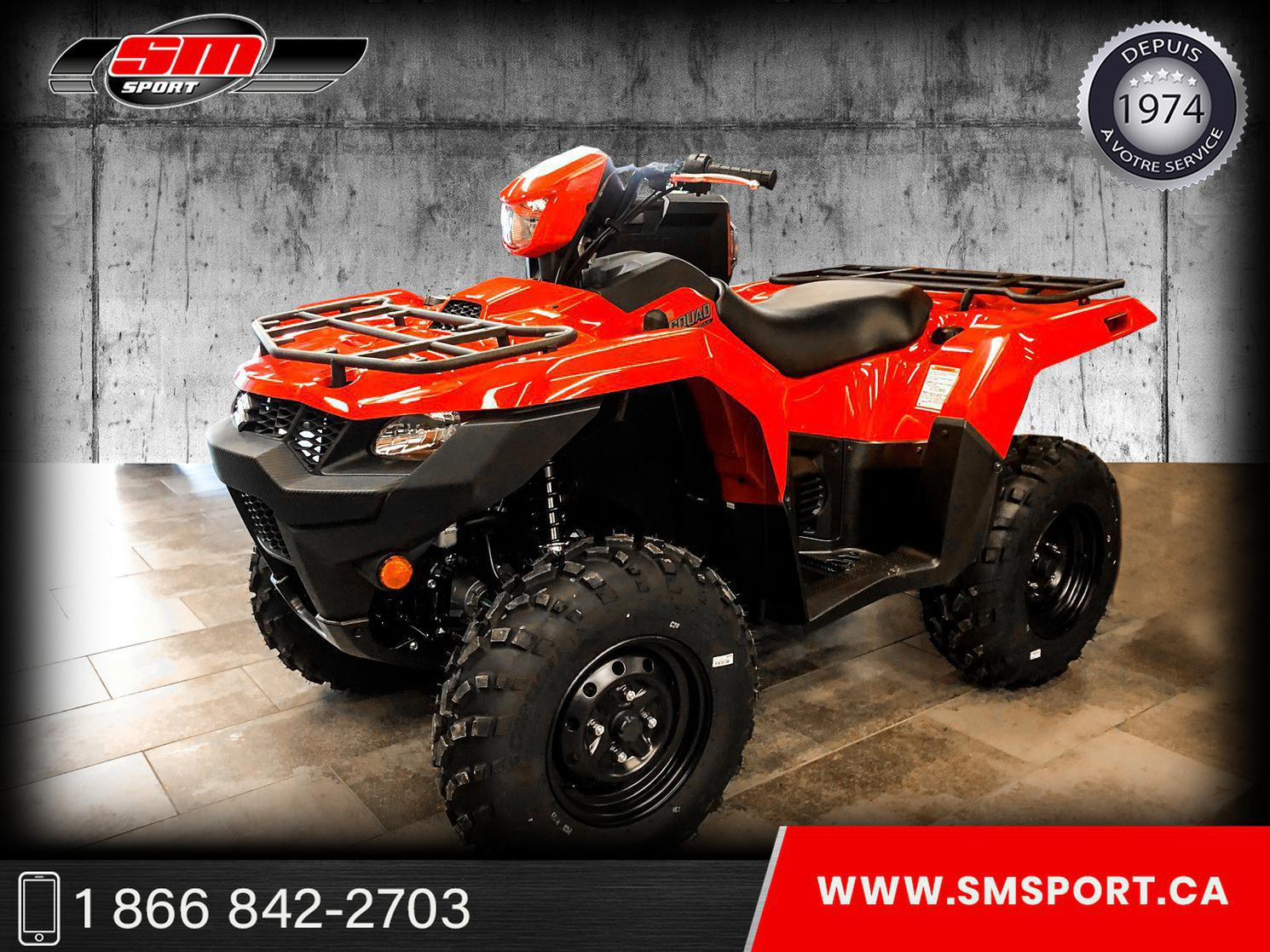 2021 Suzuki LTA 500 KINGQUAD XP- NEUF DISPONIBLE EN STOCK