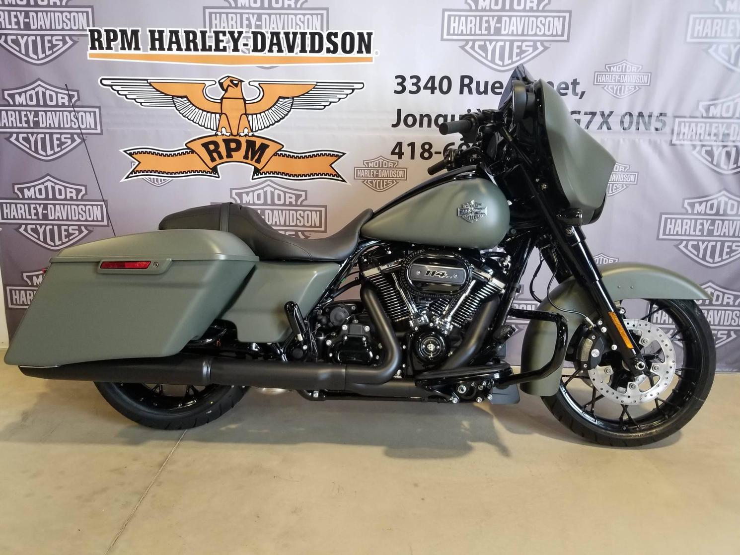 FLHXS21DWGREEN Harley-Davidson Street Glide Special 2021