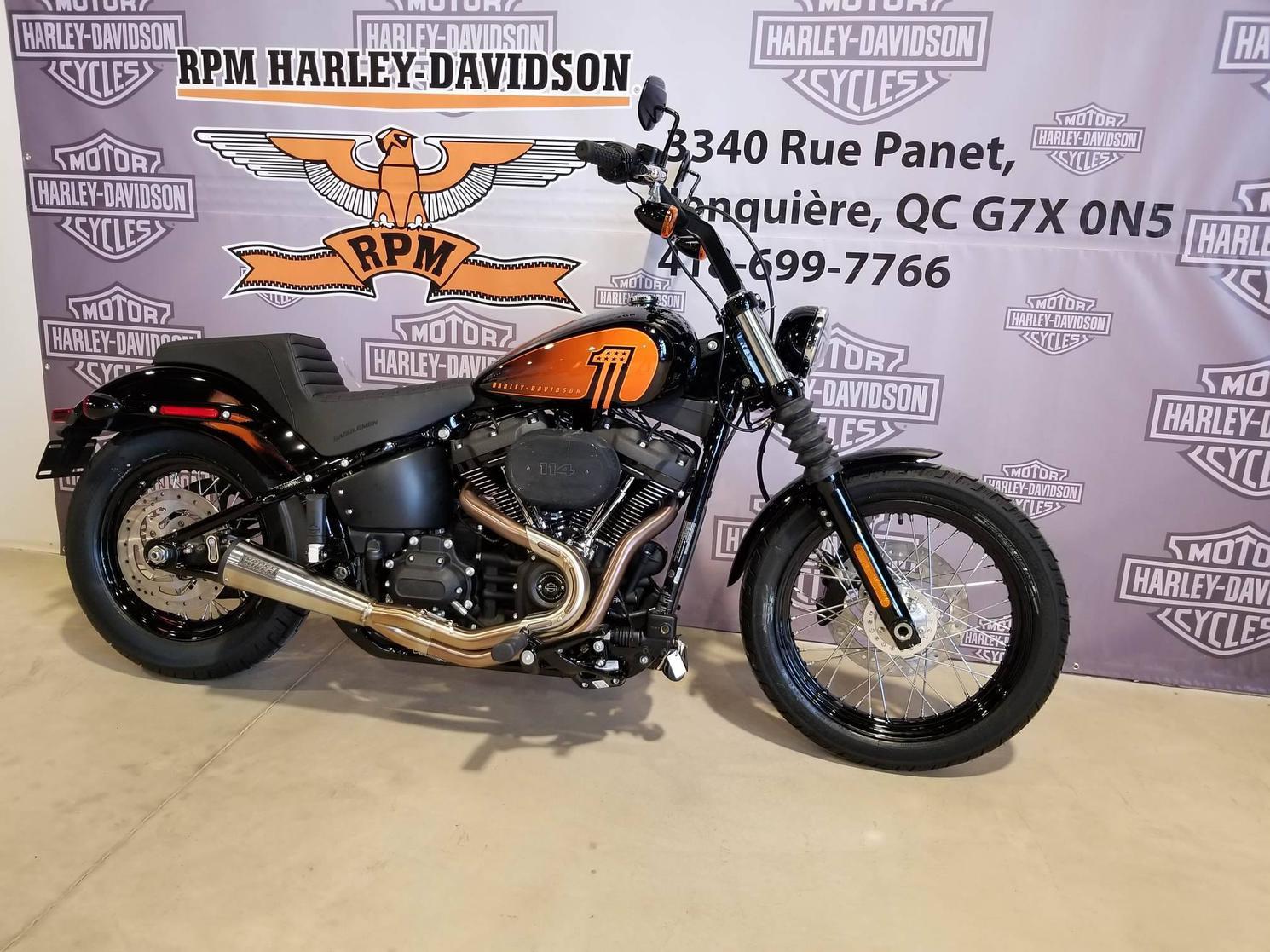 Harley-Davidson Softail Street Bob Club Style - FXBBS 2021