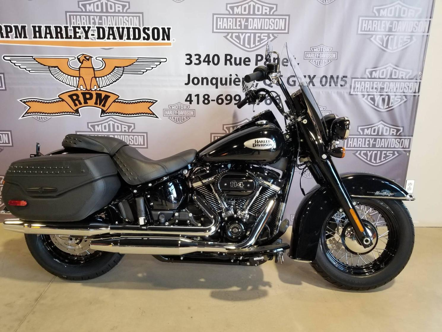Harley-Davidson Softail Heritage 114 - FLHCS 2021