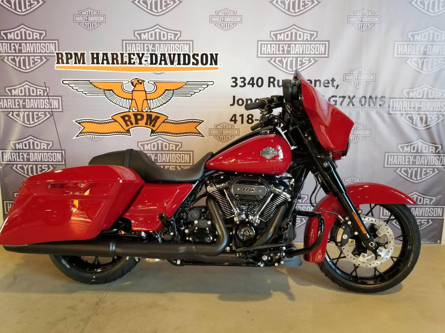 FLHXS21RED Harley-Davidson Street Glide Special 2021