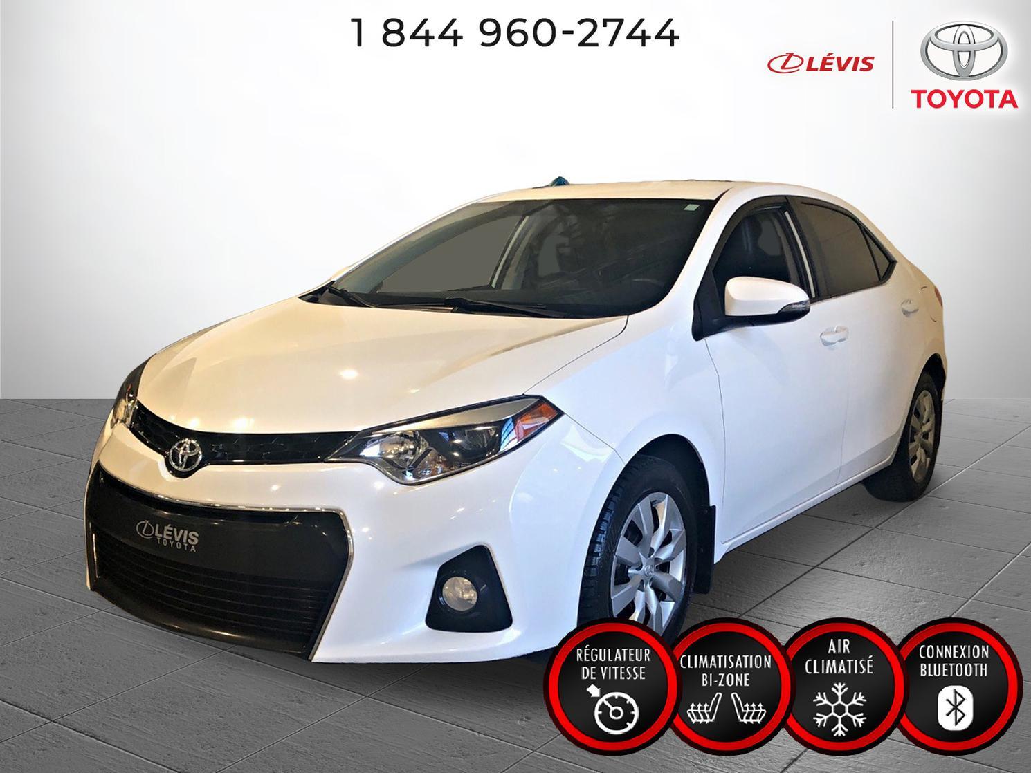 Toyota Corolla S MANUELLE 2016