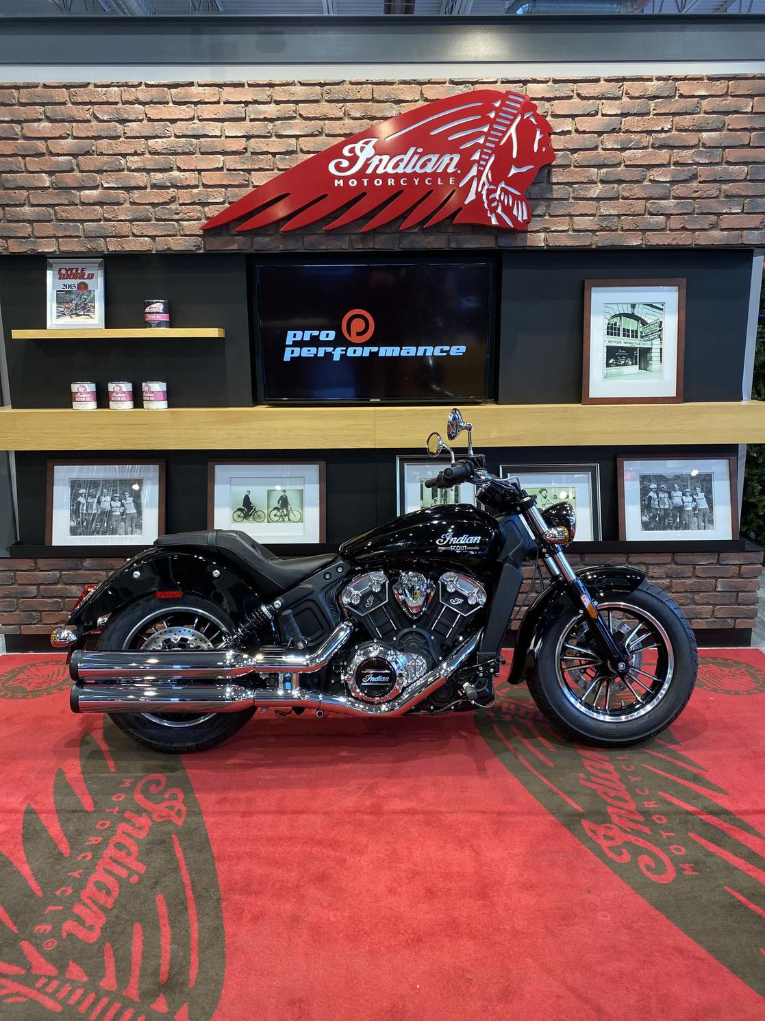 Indian Motorcycle Scout ABS 2021 - trsp & prep inclus.