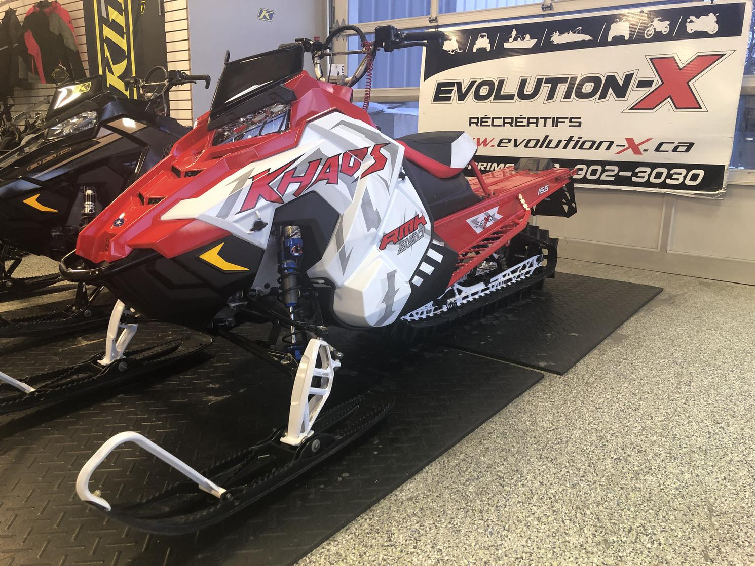 Polaris 850 RMK KHAOS 155 3'' - garantie 5 ans disponible 2020