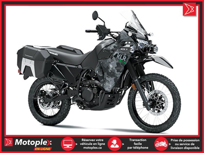 2022 Kawasaki KLR650 ADVENTURE CAMO