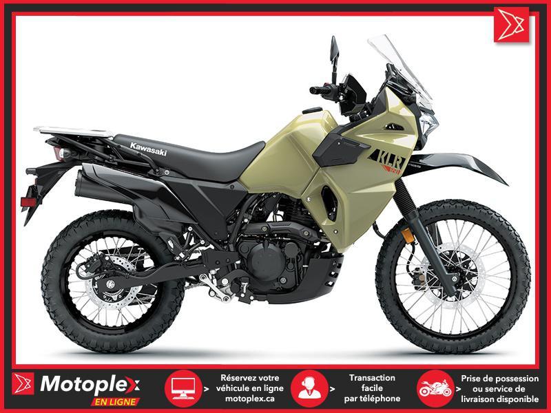 Kawasaki KLR650 KAKI SABLE 2022