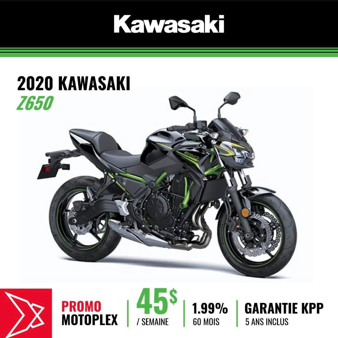 KWZ650BNL Kawasaki Z650 ABS 2020