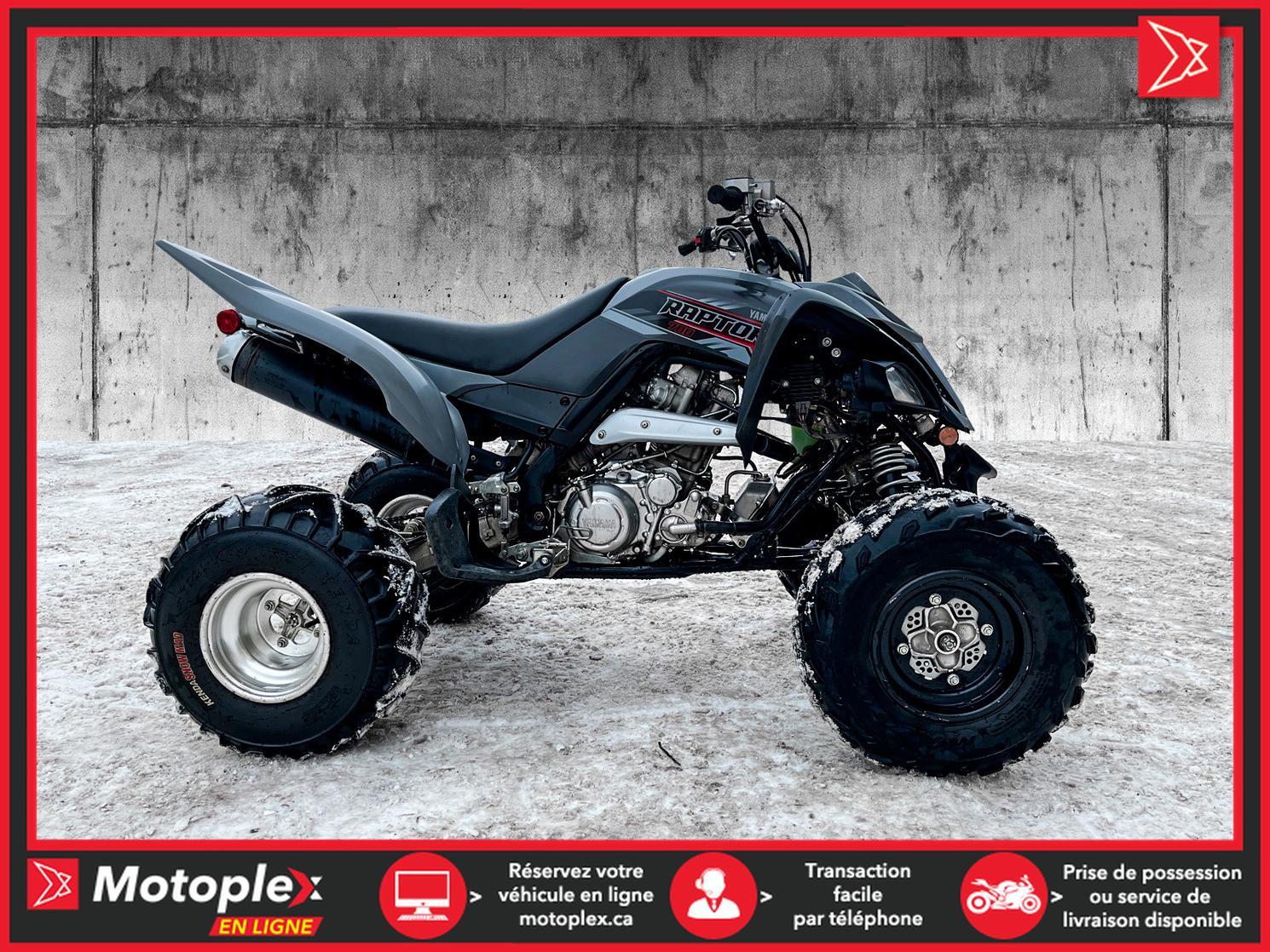 2018 Yamaha RAPTOR 700R - 37$/SEMAINE